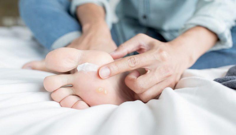 Crème pour pieds secs