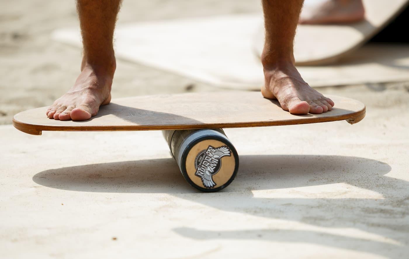 exercices balance board