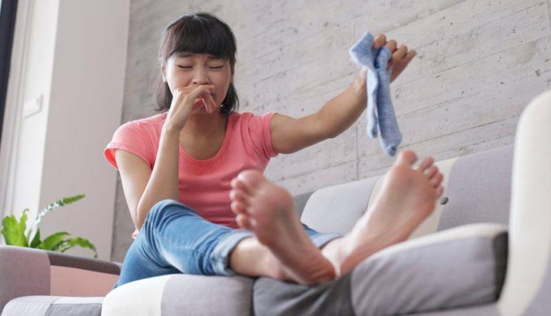 pieds qui puent