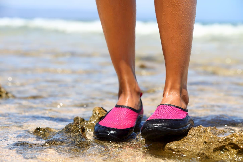 chaussures pour aller dans l'eau