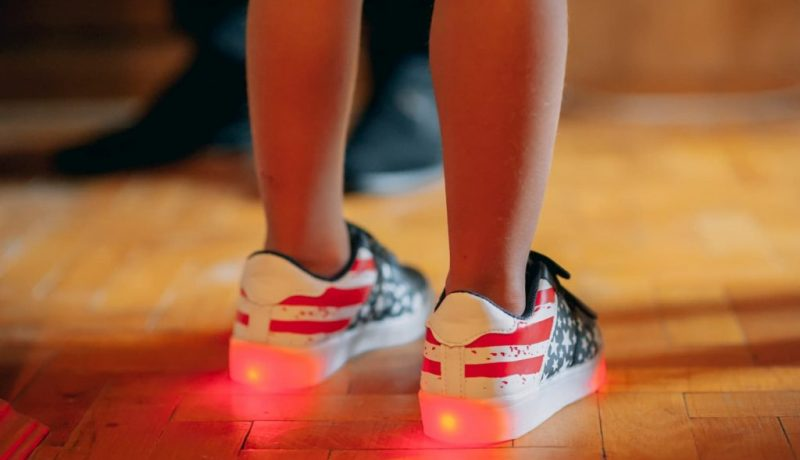 meilleures chaussures qui s'allument